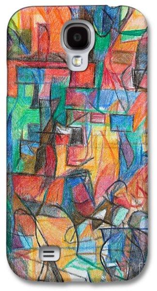 Inner Self Galaxy S4 Cases - The Letter Tav 2 Galaxy S4 Case by David Baruch Wolk