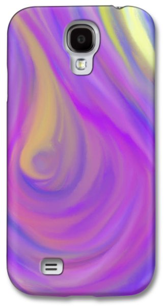 Daina White Galaxy S4 Cases - The Light of the Feminine Ray Galaxy S4 Case by Daina White