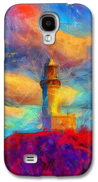 Sunset Abstract Galaxy S4 Cases - The Light Went Out Galaxy S4 Case by Joe Misrasi
