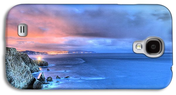 Sausalito Galaxy S4 Cases - The Lighthouse Galaxy S4 Case by JC Findley