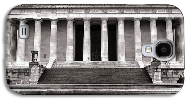 Greek Sculpture Galaxy S4 Cases - The Lincoln Memorial Galaxy S4 Case by Olivier Le Queinec