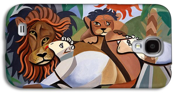 The Lion And The Lamb Galaxy S4 Case by Anthony Falbo