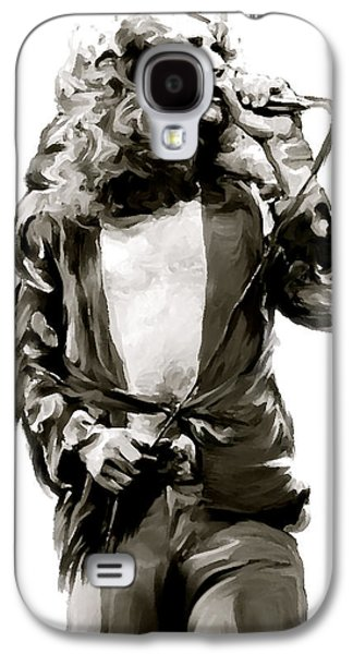 The Lion  Robert Plant Galaxy S4 Case by Iconic Images Art Gallery David Pucciarelli