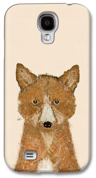 Fox Digital Galaxy S4 Cases - The Little Fox Galaxy S4 Case by Bri Buckley