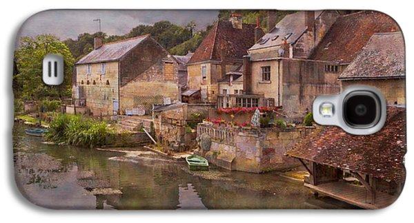 Waterscape Galaxy S4 Cases - The Loir River Galaxy S4 Case by Debra and Dave Vanderlaan