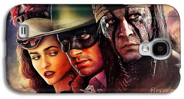 The Lone Ranger Painting Galaxy S4 Case by Marvin Blaine