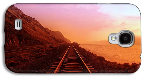 Sale Galaxy S4 Cases - The Long Walk To No Where  Galaxy S4 Case by Jeff  Swan