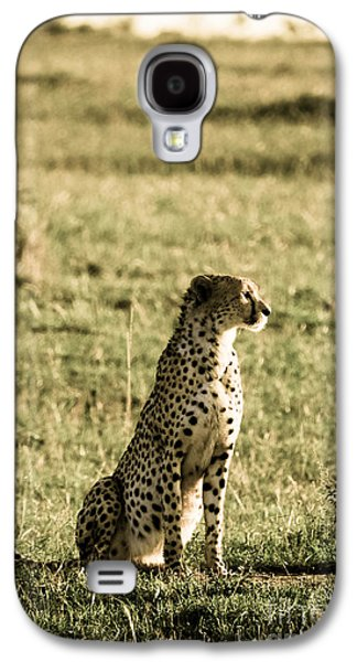 The Tiger Hunt Galaxy S4 Cases - The Look That Kills Galaxy S4 Case by Syed Aqueel