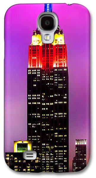 Empire State Galaxy S4 Cases - The Love Empire Galaxy S4 Case by Az Jackson