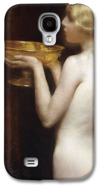 Half-length Galaxy S4 Cases - The Loving cup Galaxy S4 Case by Janet Agnes Cumbrae-Stewart