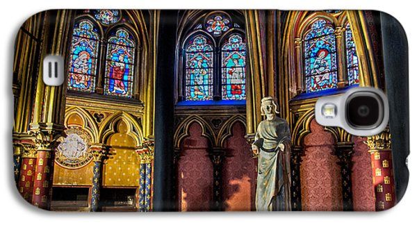 The Lower Chapel Of Sainte-chapelle Galaxy S4 Case by Tim Stanley