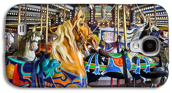 The Magical Machine - Carousel Galaxy S4 Case by Colleen Kammerer