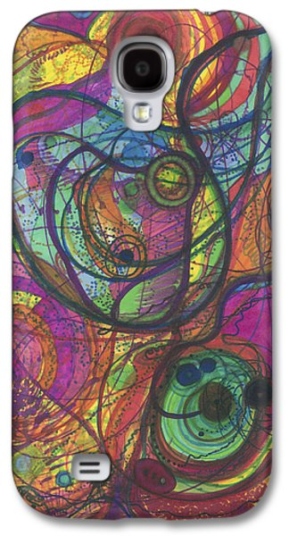 Daina White Galaxy S4 Cases - The Magnificence of God Galaxy S4 Case by Daina White