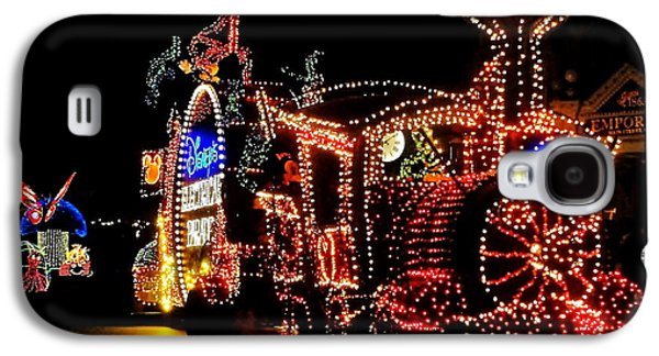 Electrical Galaxy S4 Cases - The Main Street Electrical Parade Galaxy S4 Case by Benjamin Yeager