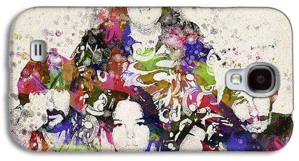People Mixed Media Galaxy S4 Cases - The Mamas and the Papas Galaxy S4 Case by Aged Pixel