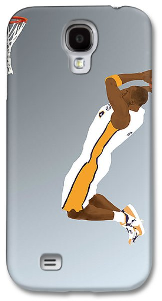 Bryant Drawings Galaxy S4 Cases - The Mamba Rises Galaxy S4 Case by Lee McCormick