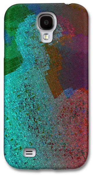 Development Mixed Media Galaxy S4 Cases - The Man Galaxy S4 Case by Toppart Sweden