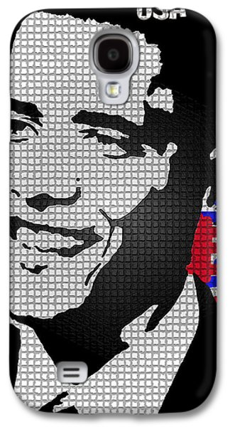 Barack Obama Galaxy S4 Cases - The Man Who Killed Osama  Galaxy S4 Case by Robert Margetts