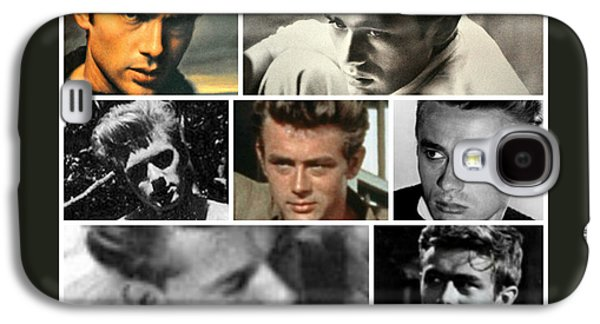 James Dean The Many Faces Galaxy S4 Case by Jay Milo