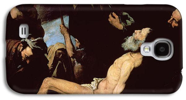 The Wooden Cross Paintings Galaxy S4 Cases - The Martyrdom of Saint Andrew Galaxy S4 Case by Jusepe de Ribera