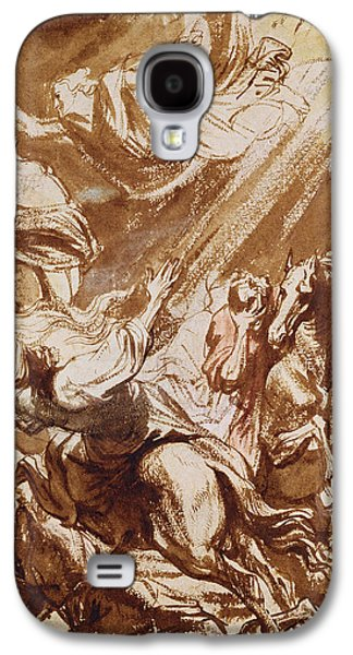 Catherine Galaxy S4 Cases - The Martyrdom of Saint Catherine Galaxy S4 Case by Sir Anthony van Dyck