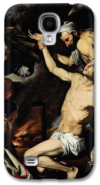 Punishment Galaxy S4 Cases - The Martyrdom of Saint Lawrence Galaxy S4 Case by Jusepe de Ribera