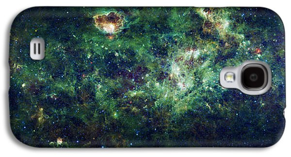 Constellations Galaxy S4 Cases - The Milky Way Galaxy S4 Case by Adam Romanowicz