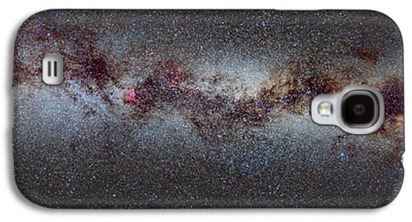 The Milky Way From Scorpio And Antares To Perseus Galaxy S4 Case by Guido Montanes Castillo