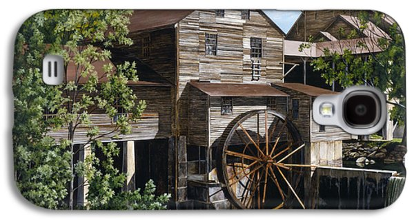 The Mill At Pigeon Forge Galaxy S4 Case by Marla J McCormick