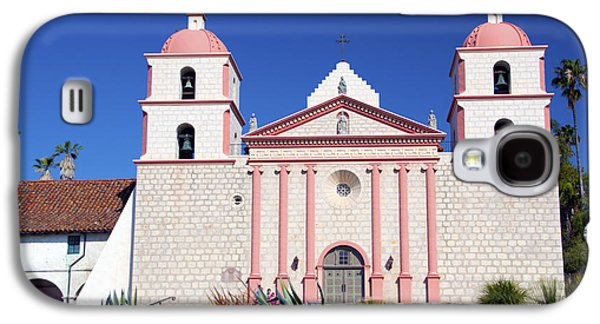 The Followers Galaxy S4 Cases - The Mission At Santa Barbara California Galaxy S4 Case by Barbara Snyder