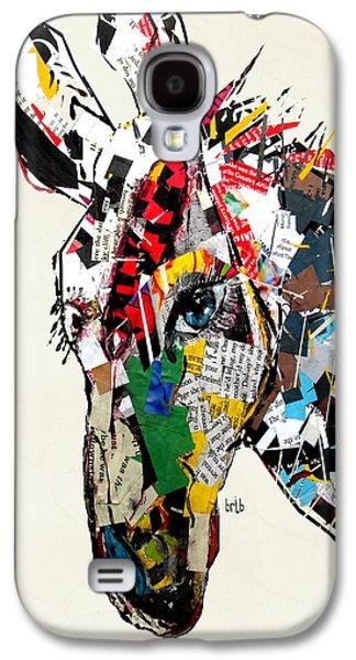Donkey Digital Art Galaxy S4 Cases - The Mod Donkey Galaxy S4 Case by Bri Buckley