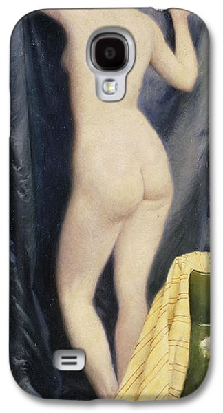Studio Photographs Galaxy S4 Cases - The Model, 1894 Oil On Canvas Galaxy S4 Case by Paul Fischer