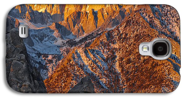 Contemplative Photographs Galaxy S4 Cases - The Monk Galaxy S4 Case by Don Hall