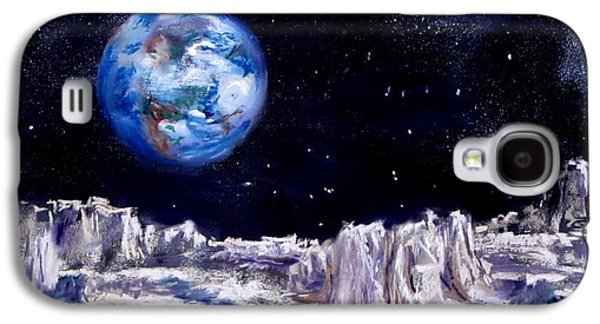 Jack Skinner Galaxy S4 Cases - The Moon Rocks Galaxy S4 Case by Jack Skinner