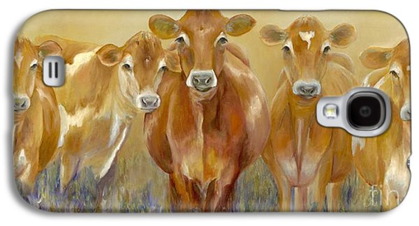 The Morning Moo Galaxy S4 Case by Catherine Davis
