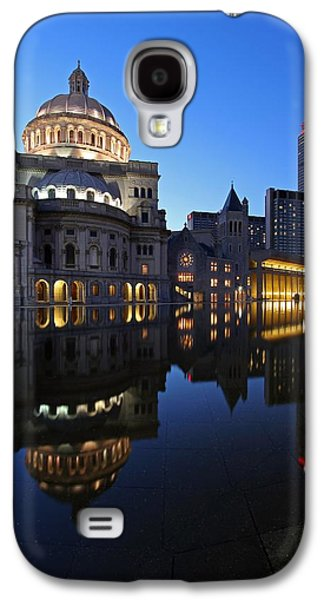 Home Improvement Galaxy S4 Cases - The Mother Church and The Pru Galaxy S4 Case by Juergen Roth