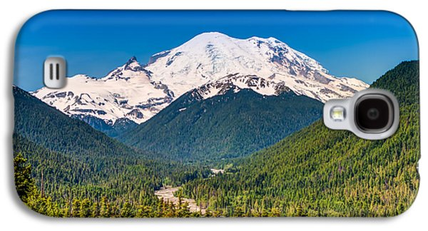 White River Scene Photographs Galaxy S4 Cases - The Mountain and the Valley Galaxy S4 Case by Rich Leighton