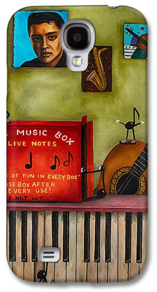 The Music Box Edit 3 Galaxy S4 Case by Leah Saulnier The Painting Maniac