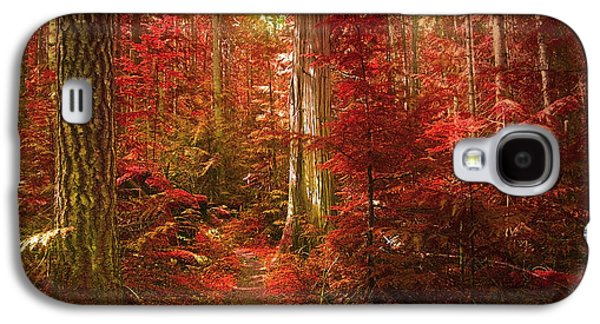 Tara Turner Galaxy S4 Cases - The Mystic Forest Galaxy S4 Case by Tara Turner