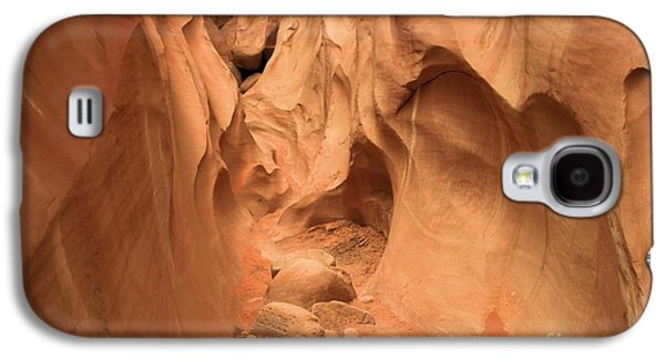 Holes In Sandstone Galaxy S4 Cases - The Narrows Ahead Galaxy S4 Case by Adam Jewell