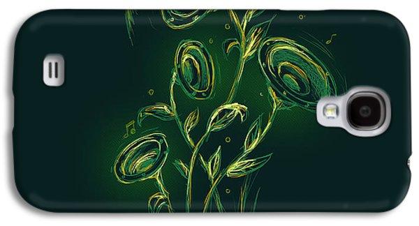 Nature Digital Galaxy S4 Cases - The nature juke box Galaxy S4 Case by Budi Kwan