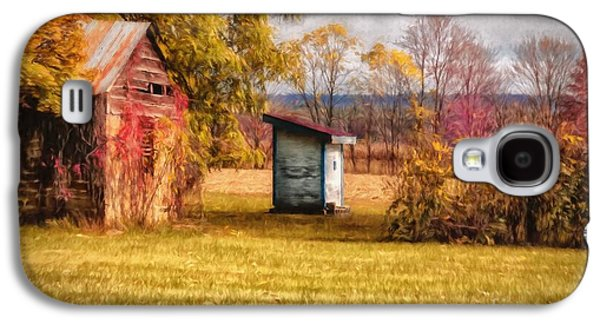 Rural Scenes Digital Galaxy S4 Cases - The Necessary Galaxy S4 Case by Lois Bryan