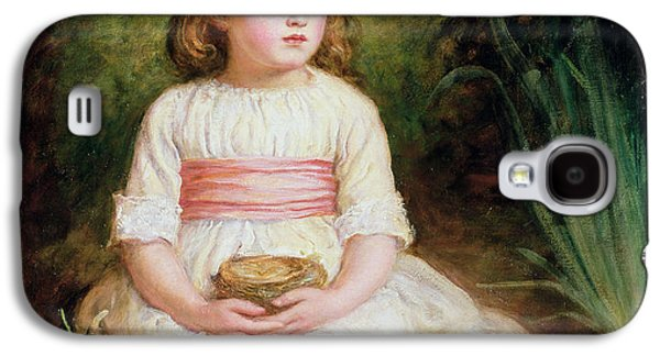 Young Birds Galaxy S4 Cases - The Nest Oil On Canvas Galaxy S4 Case by Sir John Everett Millais