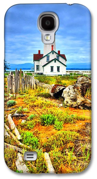 Spit Galaxy S4 Cases - The New Dungeness Lighthouse Galaxy S4 Case by Tara Turner