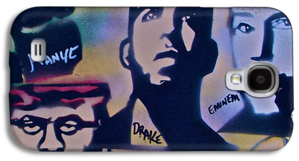 Eminem Paintings Galaxy S4 Cases - The New School Galaxy S4 Case by Tony B Conscious
