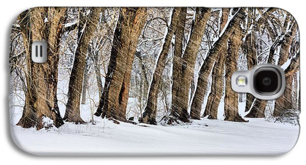 Winter Storm Photographs Galaxy S4 Cases - The Noreaster Galaxy S4 Case by JC Findley