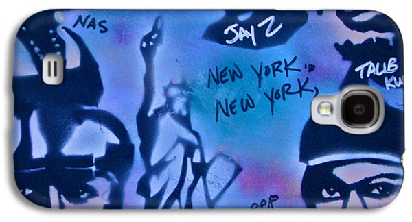 Jay Z Paintings Galaxy S4 Cases - The NYC side Galaxy S4 Case by Tony B Conscious