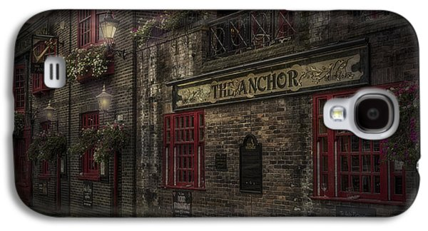 Bar Photographs Galaxy S4 Cases - The Old Anchor Pub Galaxy S4 Case by Erik Brede