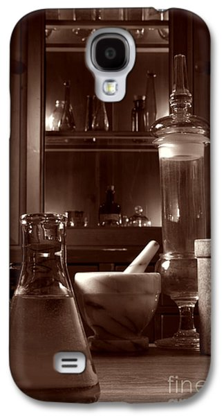 Medicine Photographs Galaxy S4 Cases - The Old Apothecary Shop Galaxy S4 Case by Olivier Le Queinec