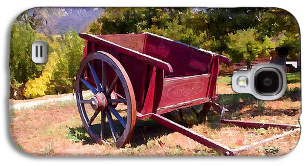 Old Roadway Galaxy S4 Cases - The Old Apple Cart Galaxy S4 Case by Glenn McCarthy Art and Photography
